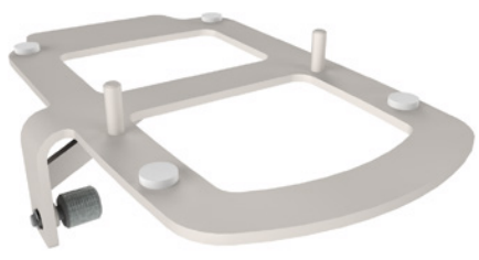 (900PT405) Pole mounting tray