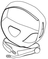 (BC325-05) Head Gear (29-36cm)