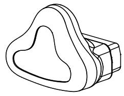 (BC803-10) Nasal mask (extra large)