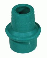 1701000-Straight elastomeric connector 22F non ISO connector - 15F lipped