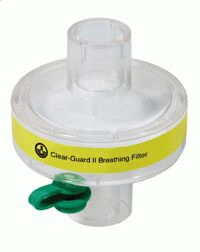 1844003-Clear-Guard II breathing filter with luer port