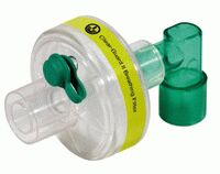 1844197-Clear-Guard II breathing filter with luer port and fixed elbow
