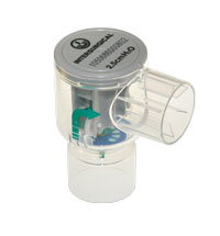 2202000-C-PEEP fixed value PEEP valve, 2.5cm H2O, black