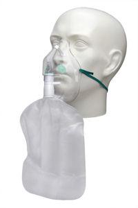 1102002-Adult, high concentration oxygen mask