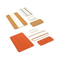 Cardboard-Splints
