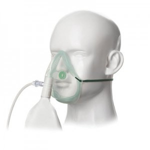 INTERSURGICAL High Concentration Oxygen Mask (Ecolite for Adult)
