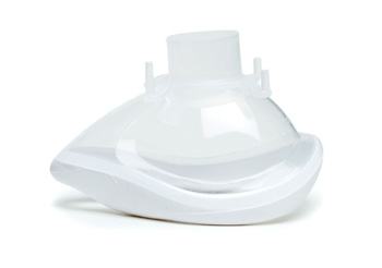 7192000-QuadraLite, anaesthetic face mask, size 2, small adult, with white s