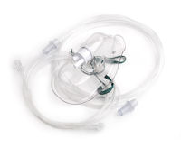 1142000-Sentri, adult, mask with CO2 monitoring line and tube, 2m
